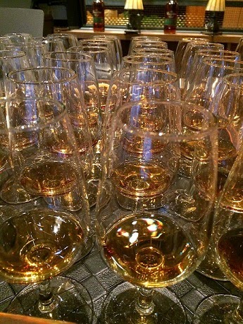 Tasting rye with Canadian Club