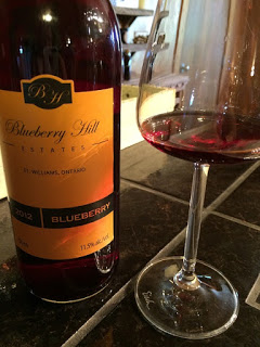 Blueberry Hill Blueberry Wine