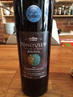 Pondview Estate Bella Terra Cabernet Franc wine