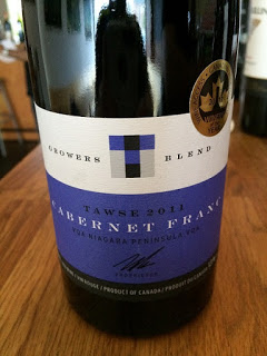 Tawse 2013 Growers Blend Cabernet Franc wine