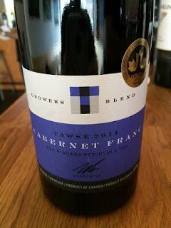 Tawse 2013 Growers Blend Cabernet Franc wine