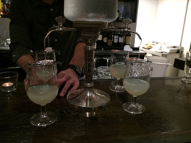 Absinthe service at Concession Road in Toronto