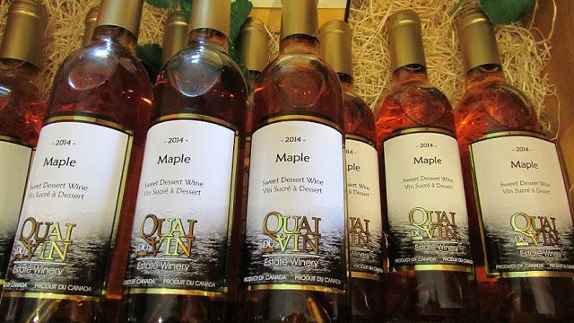 2014 Maple Dessert Wine at Quai du Vin Estate Winery