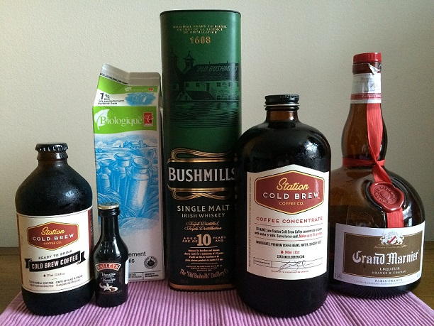 Station Cold Brew Coffee Cocktails
