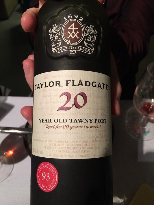 Taylor Flgadgate 20 Year Old Tawny Port