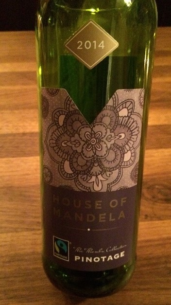 House of Mandela 2014 Pinotage