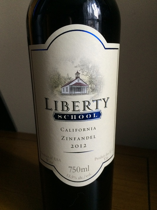 Liberty School 2012 California Zinfandel