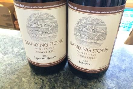 Standing Sun Saperavi Wines