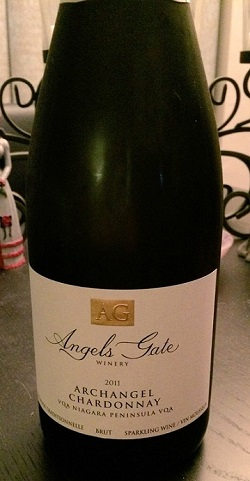 Angel's Gate Winery 2011 Archangel Chardonnay Sparkling Wine