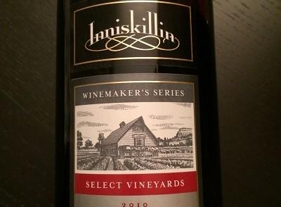 Inniskillin Winery 2010 Winemaker's Series Shiraz-Cabernet red wine