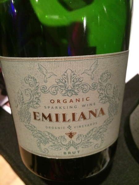 Emiliana Organic Sparkling wine from Chile