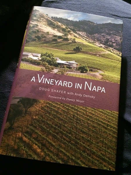A Vineyard in Napa book by Doug Shafer