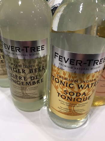 Fever Tree Tonic Water and Ginger Ale