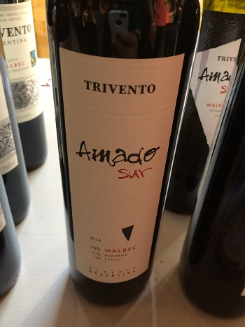Trivento's Amado Sur Malbec is a nice example of the grape.