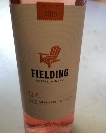 Fielding Estates 2015 Rose Wine is a great patio sipper from Niagara.