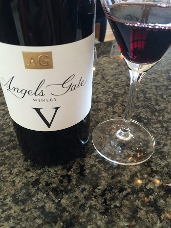 Angels Gate Winery V red wine blend