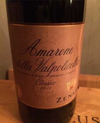 Zenato Winery Amarone della Valpolicella makes a good gift for a wine lover