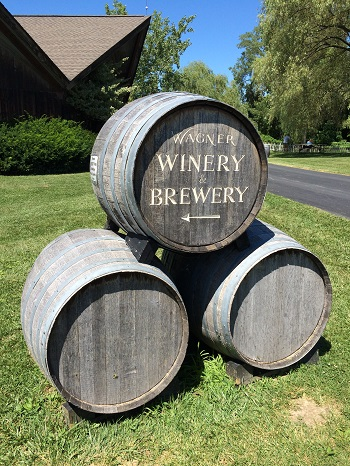 Wagner Winery and Brewery in The Finger Lakes