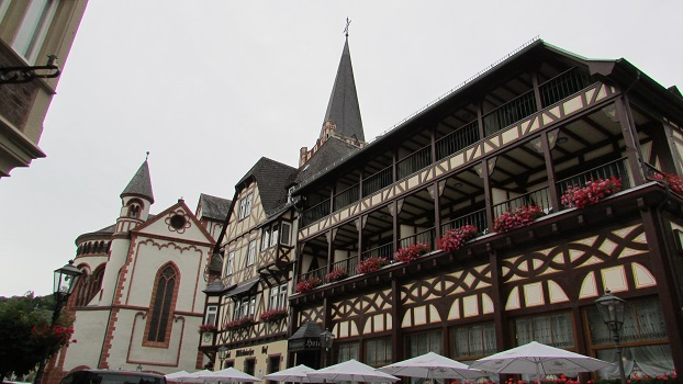 Bacharach is full of fabulous traditional buildings!