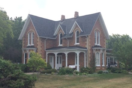 The Iron Kettle Bed and Breakfast in Comber, Ontario is a wonderful place to stay when wine touring in the area.