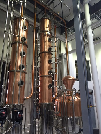 Wolfhead Distillery in Windsor/Essex, Ontario is one of the region's newest distilleries.