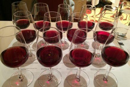 PInot Noir wine tasting.