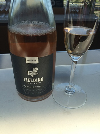 Sparkling wine from Niagara's Fielding Estate.