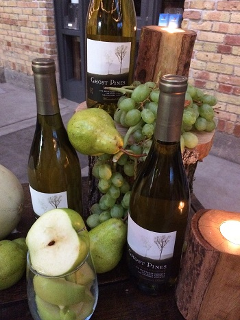 Ghost Pines Chardonnay from California is a fun Halloween wine pick.