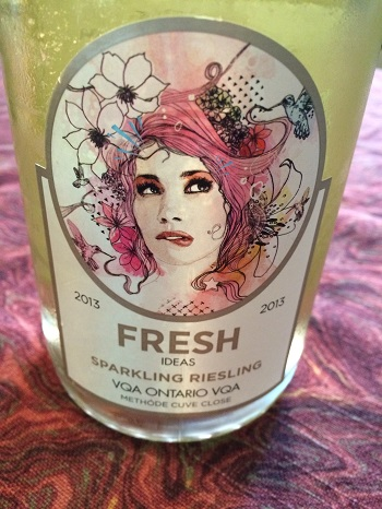 Fresh sparkling Riesling is a fun holiday sipper from Niagara