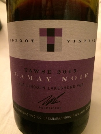Tawse Vineyards 2015 Gamay Noir
