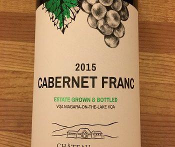 Chateau des Charmes 2015 Cabernet Franc