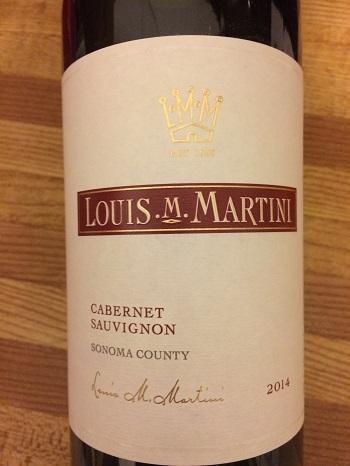 Louis M. Martini 2014 Cabernet Sauvignon