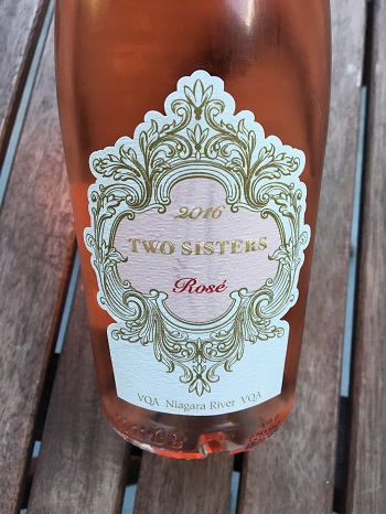 Two Sisters Vineyard 2016 Rosé