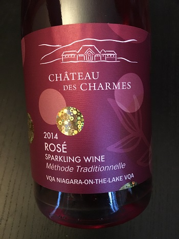 Chateau des Charmes 2014 Sparkling Rosé