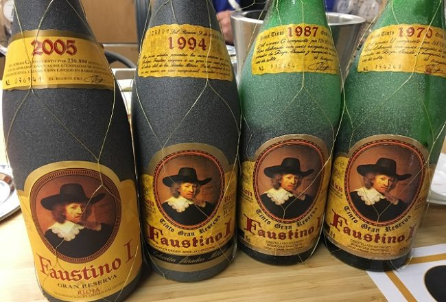 Faustino Gran Reserva Back Vintages