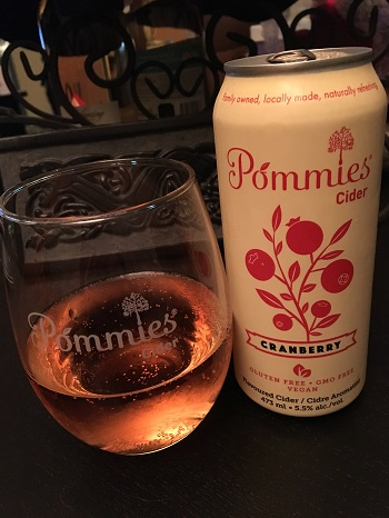 Pommie's Cranberry Cider