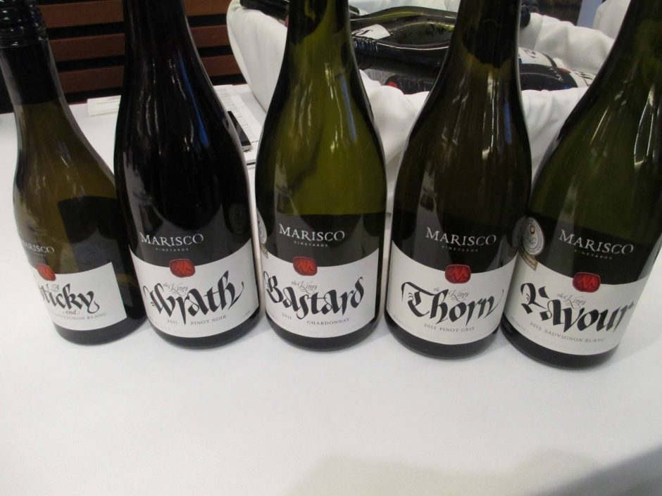 Wines from New Zealand