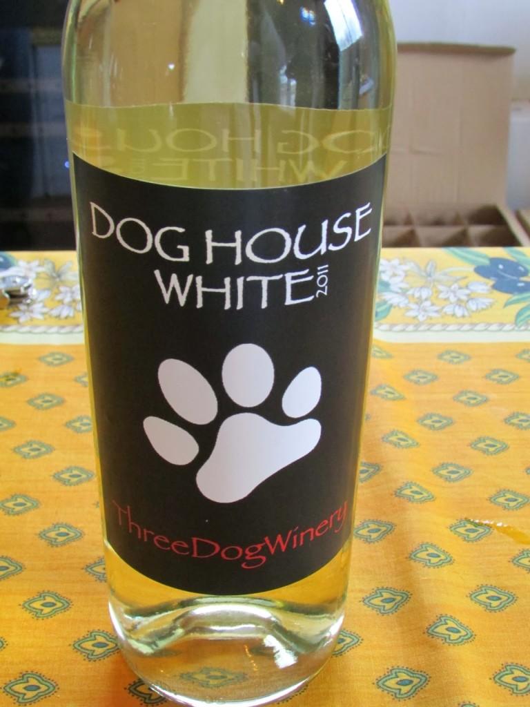 Dog House White Wine From Three Dog Winery