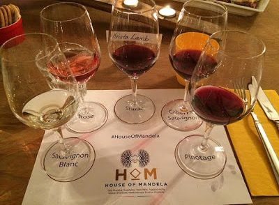 Tasting House of Mandela Wines with the Mandela Family