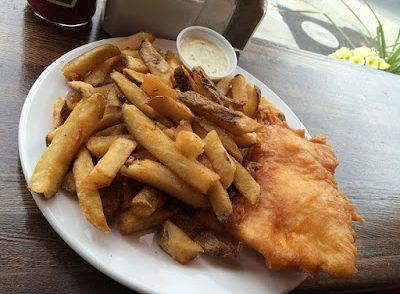 Fish and Chips at Sea Witch in Toronto