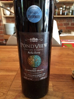 Pondview Estate Bella Terra Cabernet Franc wine