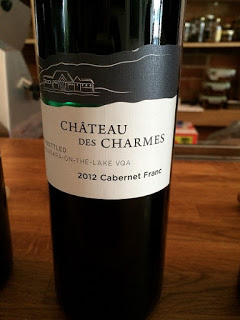 Chateau des Charmes 2012 Cabernet Franc