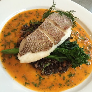 Steamed Portuguese rockfish at Concession Road in Toronto