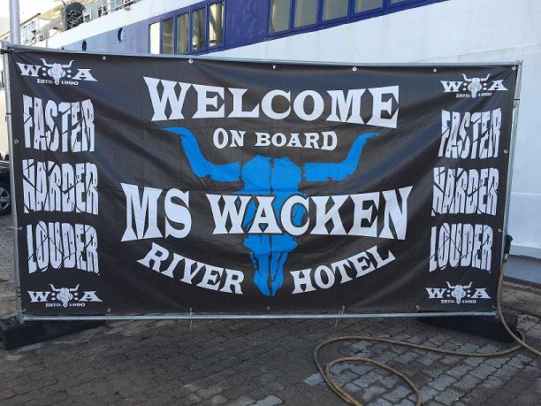 MS Wacken Boat