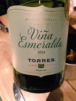 2014 Vina Esmeralda Torres wine