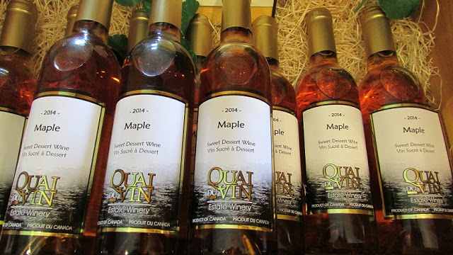 2014 Maple Dessert Wine at Quai du Vin Estate Winery