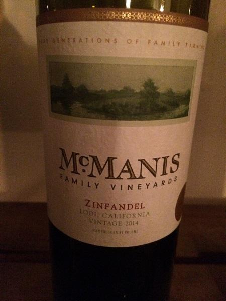 McManis Family Vineyards Zinfandel
