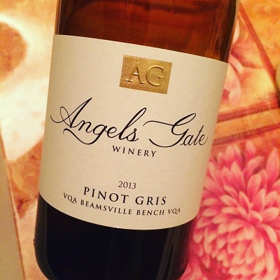Angels Gate Winery Pinot Gris is a wine worth running for!