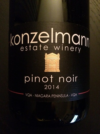 Konzelmann Estate Winery 2014 Pinot Noir