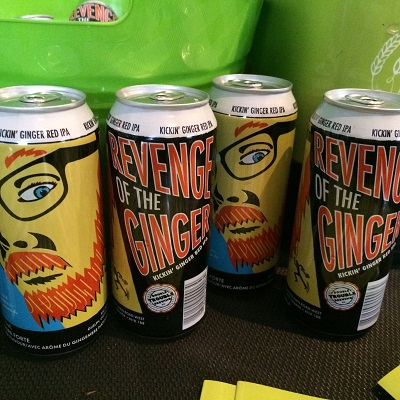 Revenge of the Ginger Craft Beer